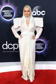Christina Aguilera attends 2019 American Music Awards at Microsoft Theater in Los Angeles 2019/11/24 6