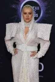 Christina Aguilera attends 2019 American Music Awards at Microsoft Theater in Los Angeles 2019/11/24 9