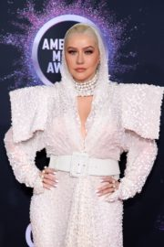 Christina Aguilera attends 2019 American Music Awards at Microsoft Theater in Los Angeles 2019/11/24 12