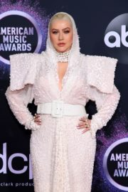 Christina Aguilera attends 2019 American Music Awards at Microsoft Theater in Los Angeles 2019/11/24 14