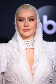 Christina Aguilera attends 2019 American Music Awards at Microsoft Theater in Los Angeles 2019/11/24 16