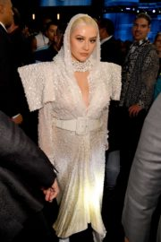 Christina Aguilera attends 2019 American Music Awards at Microsoft Theater in Los Angeles 2019/11/24 17