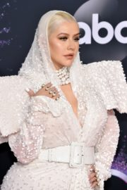 Christina Aguilera attends 2019 American Music Awards at Microsoft Theater in Los Angeles 2019/11/24 18