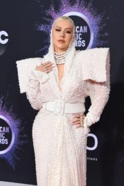 Christina Aguilera attends 2019 American Music Awards at Microsoft Theater in Los Angeles 2019/11/24 22