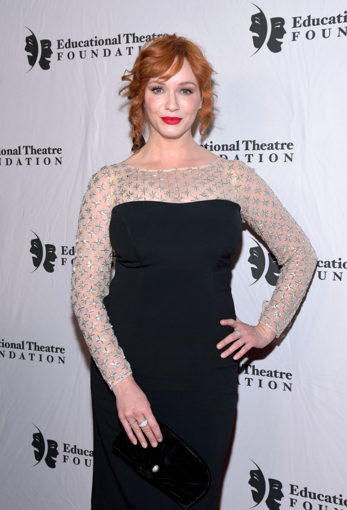Christina Hendricks attends 2019 annual Thespians Go Hollywood Gala in Los Angeles 2019/11/18 3