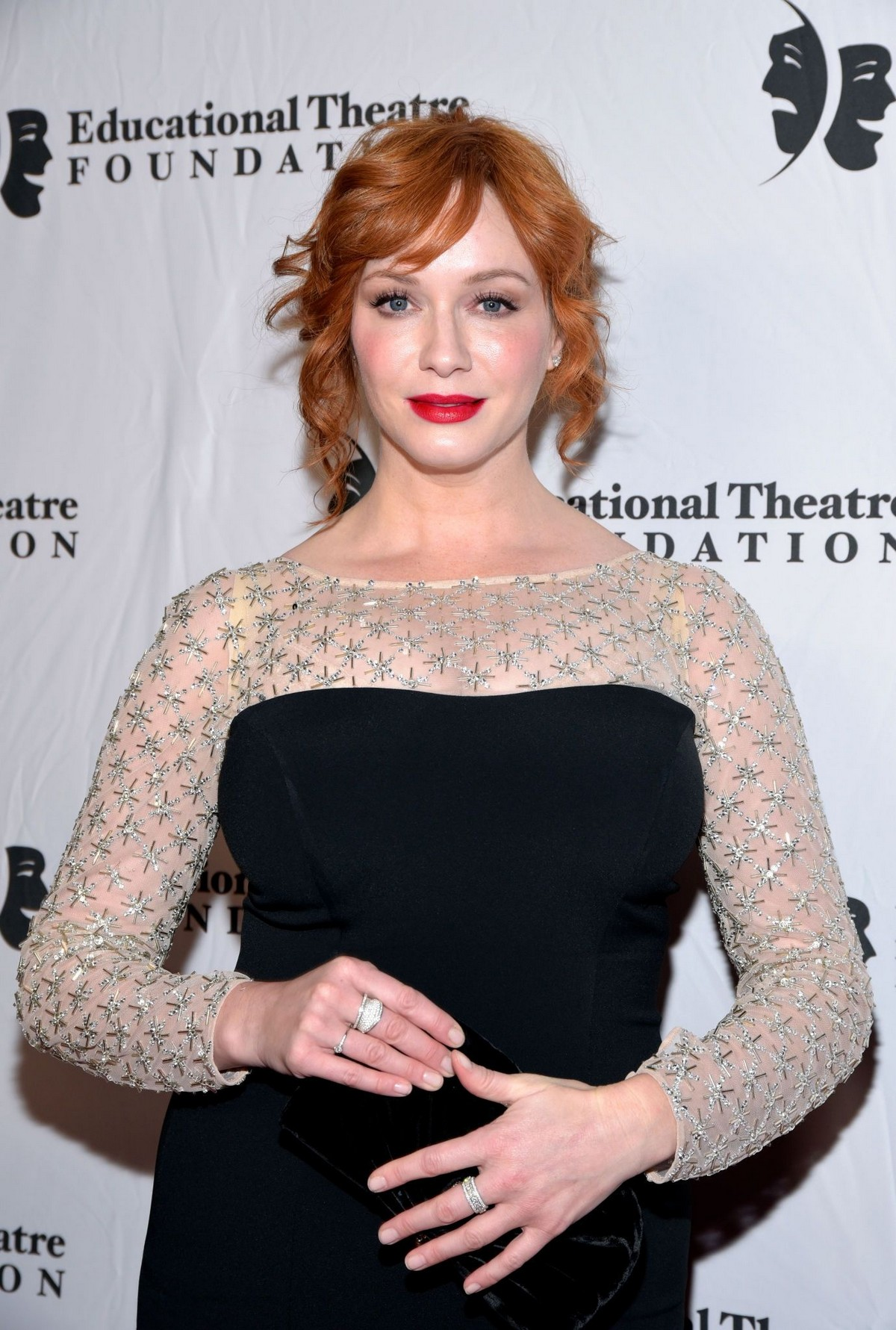 Christina Hendricks attends 2019 annual Thespians Go Hollywood Gala in Los Angeles 2019/11/18 5