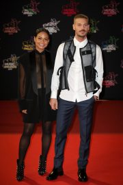 Christina Milian and Matt Pokora attends 21st NRJ Music Awards in Cannes, France 2019/11/09 1