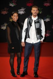 Christina Milian and Matt Pokora attends 21st NRJ Music Awards in Cannes, France 2019/11/09 2
