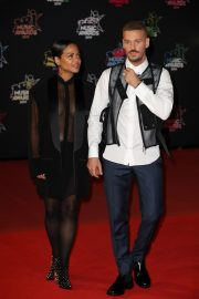 Christina Milian and Matt Pokora attends 21st NRJ Music Awards in Cannes, France 2019/11/09 3