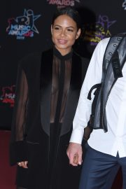 Christina Milian and Matt Pokora attends 21st NRJ Music Awards in Cannes, France 2019/11/09 5