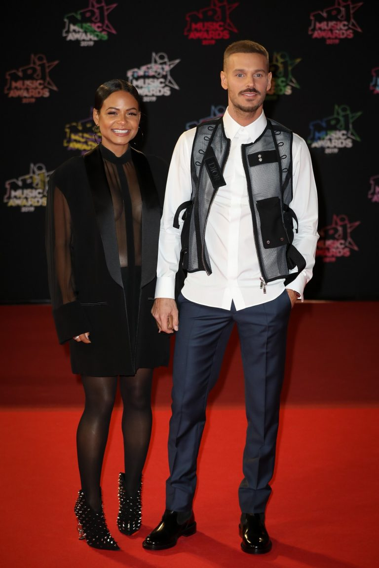 Christina Milian and Matt Pokora attends 21st NRJ Music Awards in Cannes, France 2019/11/09 8