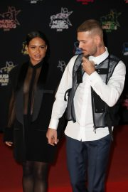 Christina Milian and Matt Pokora attends 21st NRJ Music Awards in Cannes, France 2019/11/09 9