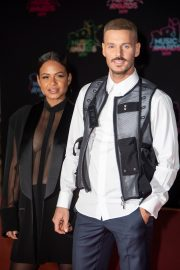 Christina Milian and Matt Pokora attends 21st NRJ Music Awards in Cannes, France 2019/11/09 11
