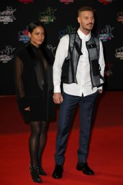 Christina Milian and Matt Pokora attends 21st NRJ Music Awards in Cannes, France 2019/11/09 12