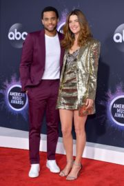 Cobie Smulders and Michael Ealy attend 2019 American Music Awards at Microsoft Theater in Los Angeles 2019/11/24 1