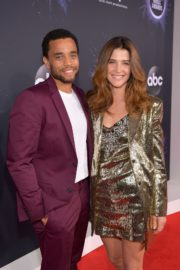 Cobie Smulders and Michael Ealy attend 2019 American Music Awards at Microsoft Theater in Los Angeles 2019/11/24 3