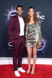 Cobie Smulders and Michael Ealy attend 2019 American Music Awards at Microsoft Theater in Los Angeles 2019/11/24 4