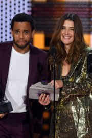 Cobie Smulders and Michael Ealy attend 2019 American Music Awards at Microsoft Theater in Los Angeles 2019/11/24 5