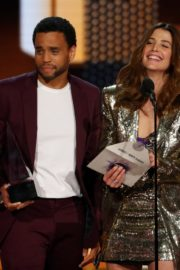 Cobie Smulders and Michael Ealy attend 2019 American Music Awards at Microsoft Theater in Los Angeles 2019/11/24 7