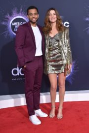 Cobie Smulders and Michael Ealy attend 2019 American Music Awards at Microsoft Theater in Los Angeles 2019/11/24 8