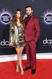 Cobie Smulders and Taran Killam attend 2019 American Music Awards at Microsoft Theater in Los Angeles 2019/11/24 1