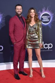 Cobie Smulders and Taran Killam attend 2019 American Music Awards at Microsoft Theater in Los Angeles 2019/11/24 5