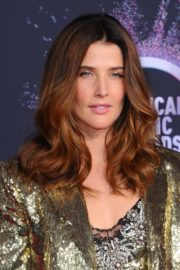 Cobie Smulders attends 2019 American Music Awards at Microsoft Theater in Los Angeles 2019/11/24 20