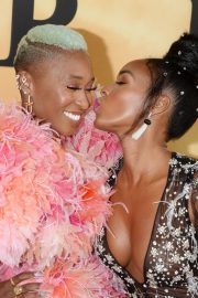 Cynthia Erivo and Janelle Monae attends Premiere of 'Harriet' at Orpheum Theatre in Los Angeles 2019/10/29 3