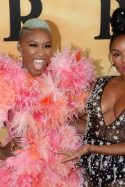 Cynthia Erivo and Janelle Monae attends Premiere of 'Harriet' at Orpheum Theatre in Los Angeles 2019/10/29 9