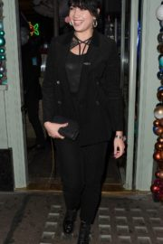 Daisy Lowe Leaves Sexy Fish Restaurant in London 2019/11/28 5
