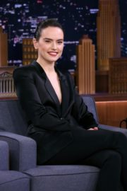 Daisy Ridley at The Tonight Show With Jimmy Fallon in New York City 2019/11/25 1
