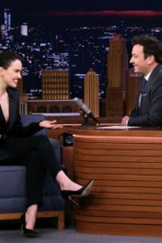 Daisy Ridley at The Tonight Show With Jimmy Fallon in New York City 2019/11/25 2