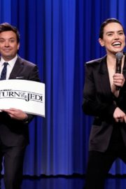 Daisy Ridley at The Tonight Show With Jimmy Fallon in New York City 2019/11/25 3