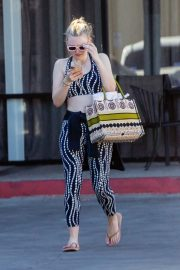 Dakota Fanning leaves after an exercise class in Los Angeles 2019/11/09 4