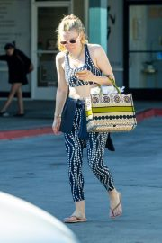Dakota Fanning leaves after an exercise class in Los Angeles 2019/11/09 9