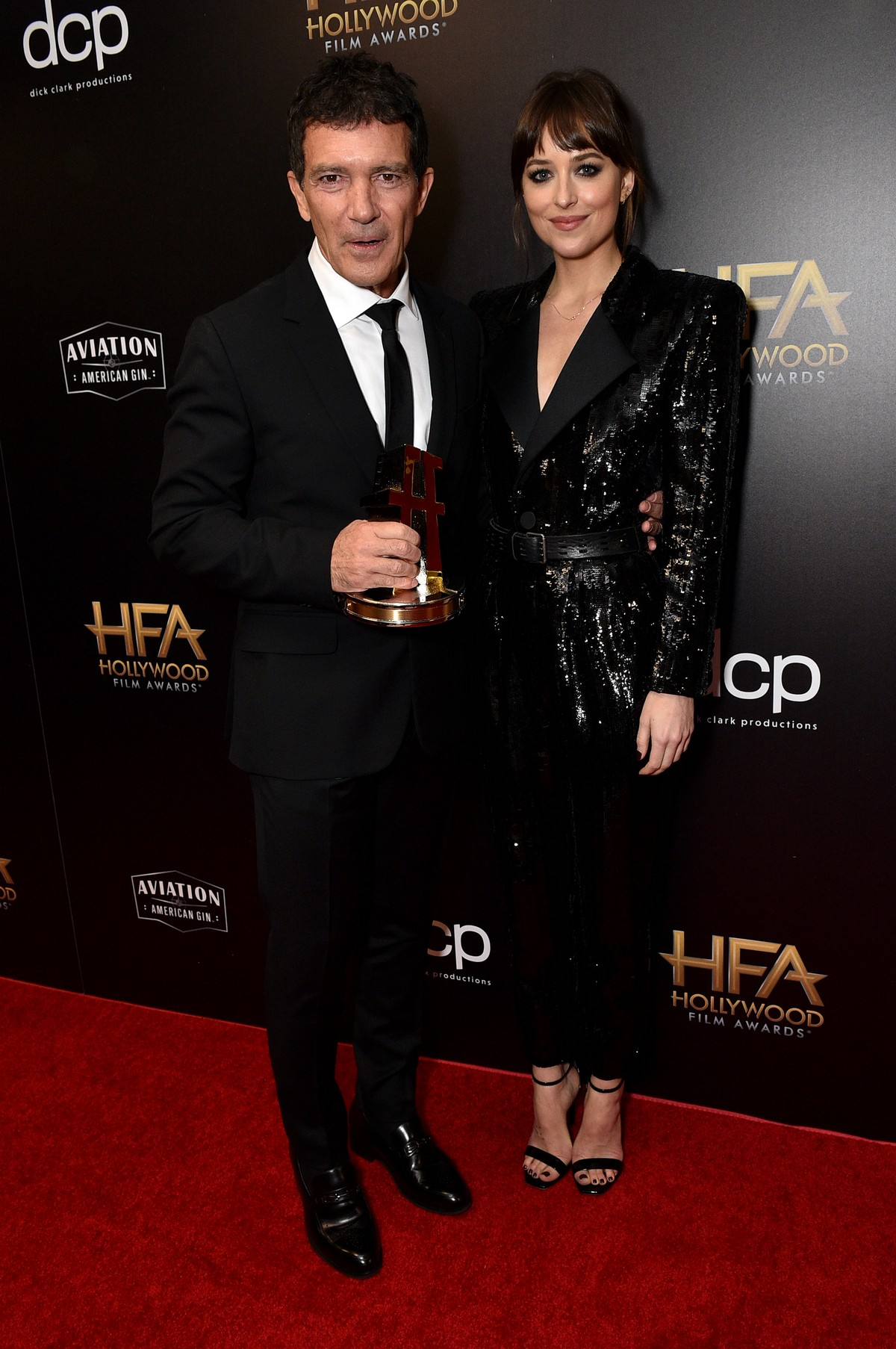 Dakota Johnson and Antonio Banderas at 23rd Annual Hollywood Film Awards in Los Angeles 2019/11/03 6