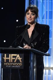 Dakota Johnson on Stage at 23rd Annual Hollywood Film Awards in Los Angeles 2019/11/03 1
