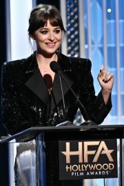 Dakota Johnson on Stage at 23rd Annual Hollywood Film Awards in Los Angeles 2019/11/03 7