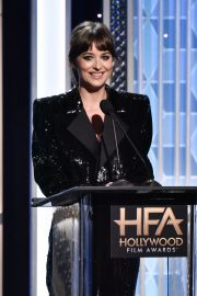 Dakota Johnson on Stage at 23rd Annual Hollywood Film Awards in Los Angeles 2019/11/03 8