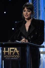 Dakota Johnson on Stage at 23rd Annual Hollywood Film Awards in Los Angeles 2019/11/03 12