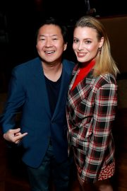 Dan Harmon, Gillian Jacobs, and Ken Jeong at Vulture Festival in Hollywood 2019/11/10 2