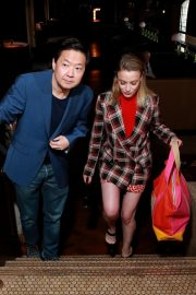 Dan Harmon, Gillian Jacobs, and Ken Jeong at Vulture Festival in Hollywood 2019/11/10 3
