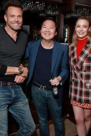 Dan Harmon, Gillian Jacobs, and Ken Jeong at Vulture Festival in Hollywood 2019/11/10 5