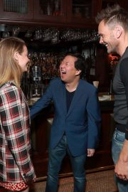 Dan Harmon, Gillian Jacobs, and Ken Jeong at Vulture Festival in Hollywood 2019/11/10 6