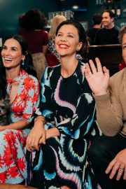 Demi Moore attends The Late Late Show with James Corden 2019/10/23 1
