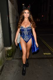 Demi Rose Night out with friends in Mayfair London 2019/10/26 5