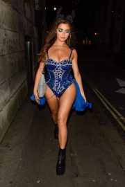 Demi Rose Night out with friends in Mayfair London 2019/10/26 6