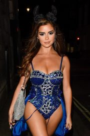 Demi Rose Night out with friends in Mayfair London 2019/10/26 8