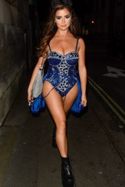 Demi Rose Night out with friends in Mayfair London 2019/10/26 9