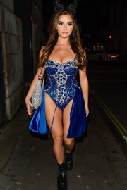 Demi Rose Night out with friends in Mayfair London 2019/10/26 10